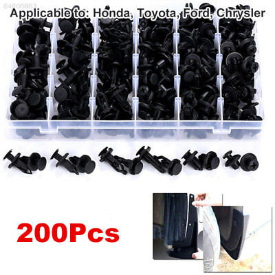 DF21 4 Patterns Sealing Strip Screws Cars Door for Toyota Rivets Trim Hole