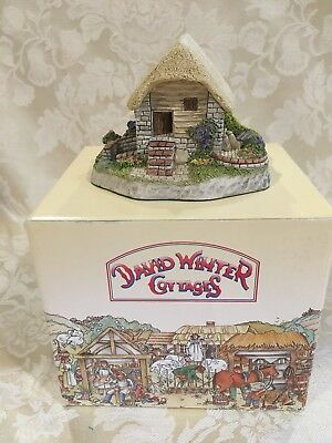 "David Winter Cottages, ""Irish Water Mill"", Guild Member piece for 1992, with COA"