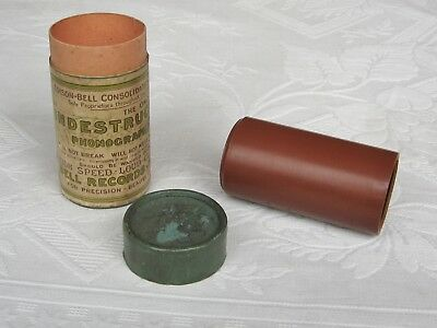 Edison - Bell Indestructible Phonograph Cylinder Record ~ London Regimental Band