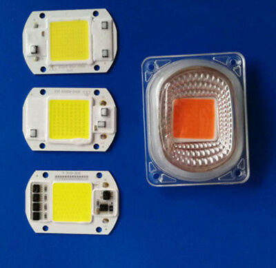 220V 20W 30W 50W 70W 100W LED Floodlight COB Chip, Integrated Smart IC Driver