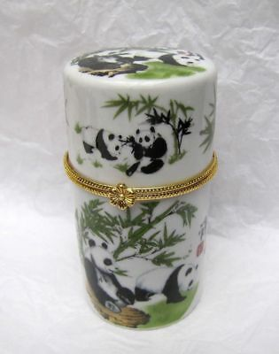 Chinese handwork porcelain painting toothpick box