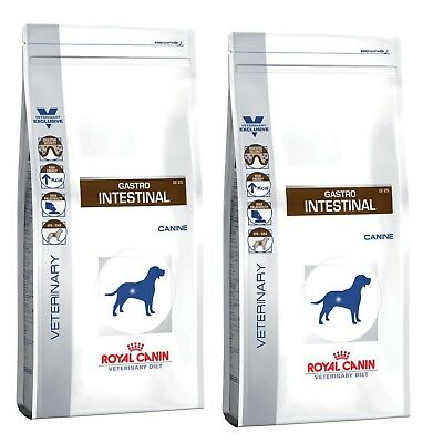 2 x 14kg Royal Canin Veterinary Diet GI 25 Gastro Intestinal ★NUR FRISCHE WARE★