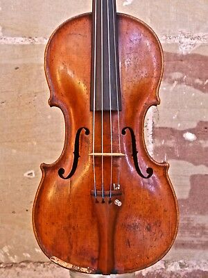 Alte Geige ...   Fine old, very interesting violin about 1850.