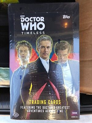 2016 Topps BBC Doctor Who Timeless Trading Cards Sealed Hobby Box