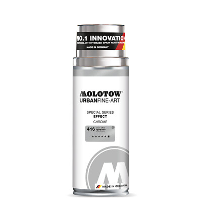 Molotow Spray Urban Fine Art Special, EFFECT CHROME (400ml)  Spraydose  Nr. 416