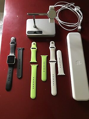 Apple Watch Series 1. Excellent. With Three Color Straps And Charger