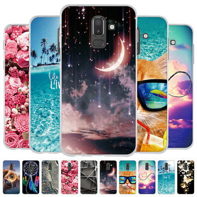 TPU Case Cover For Samsung Galaxy J6+/J4+/J8 2018/J7 2018 Soft Rubber Silicone