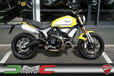 2018 Ducati Scrambler 1100 Yellow Ex-Demo