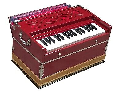 HARMONIUM~MINI~2¾ OCTAVES~440Hz~DOUBLE REEDS~BHAJAN~KIRTAN~YOGA~MEDITATION~CHANT