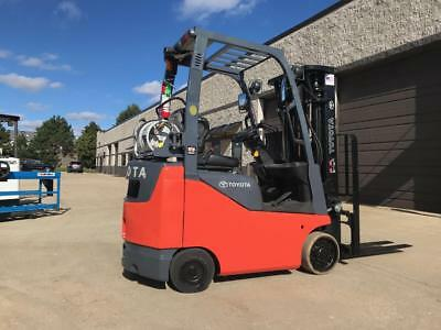 2014 Toyota 3000 LPG/Propane Forklift(s) WE WILL SHIP-Low Hours-Triple stage-SS!