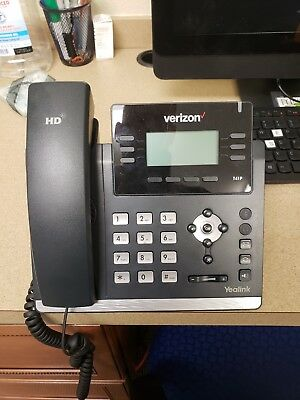 YEALINK SIP-T41P IP PHONE WITH POWER SUPPLY Verizon