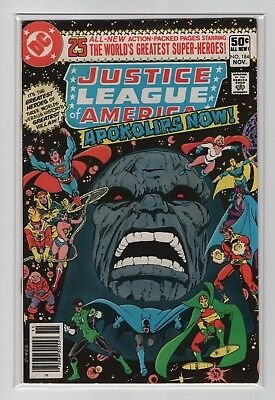 Justice League of America #184  FN-  (Darkseid)   DC 1980