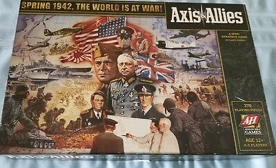 Axis & Allies Spring 1942, The World Is At War 2009 Edition Board Game