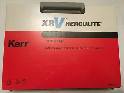 Dental Kerr composite XRV HERCULITE Custom kit 6x5g syringes