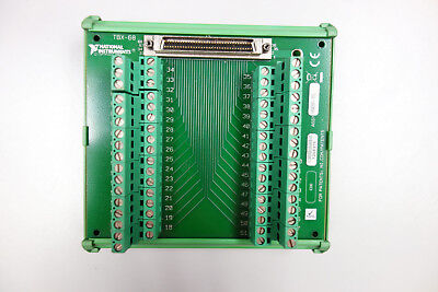 NI TBX-68 Connector Terminal Block for connecting 68-Pin DAQ Devices