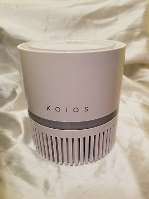 Air Purifier KOIOS Desktop Filtration with True HEPA Filter Compact Home Cleaner