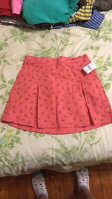 95ea9331fe NWT GIRLS HARTSTRINGS Corduroy Skirt, Pink With Dots, Size 6x ...