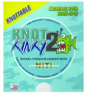 Knot2Kinky NT01615 Leader Wire 55lb 55lb 15ft
