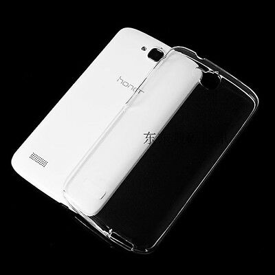 For Huawei Honor 3C Play Holly Ultra Thin Anti Print Clear Soft Case Back Cover