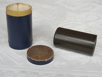 Columbia BROWN WAX Phonograph Cylinder Record ~ Popular song ~Columbia Orchestra