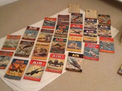 Air Stories Comics 1936 - 1939