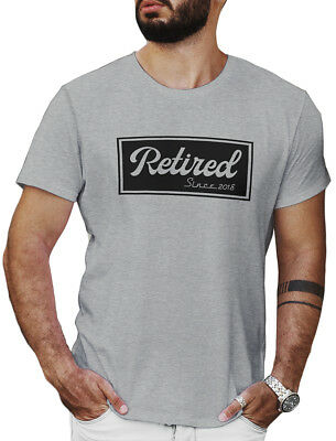 Retired Since 2018 Shirt Gift Mom and Dad Retirement Party Mens Unisex LeRage