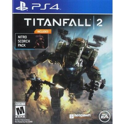 Titanfall 2 for Playstation 4 with Bonus Nitro Scorch Pack PS4