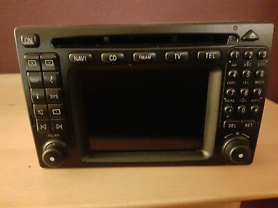Mercedes Benz W-210-Autoradio 10 Fach Wechsler, Datenkabel original
