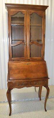 Ethan Allen Country French Secretary Birch #26-9305, #26-9304 #236 Fruitwood (A)