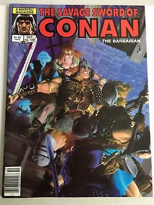 Savage Sword Of Conan #105 Marvel Comics *Print Errors* Red Sonja KULL