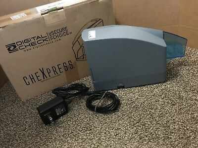 Digital Check CheXpress CX30 Check Scanner w/ Power Supply &USB, WORKS Free Ship
