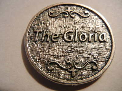 The Gloria (in English) Medal Token New! MADE IN ITALY!