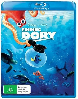 Finding Dory (Blu-ray, 2016)
