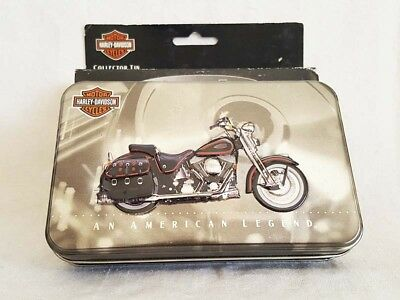 Harley-Davidson Collector Metal Tin Playing Cards