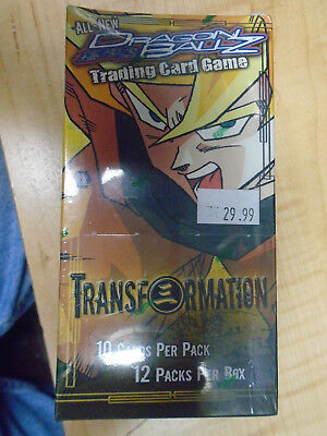 Dragonball Z Transformation Sealed 12 Pack Trading Card Game Booster Box TCG