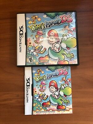 Yoshi's Island DS (Nintendo DS) Case & Manual Only... NO GAME