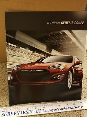 2013 Hyundai Genesis Coupe Brochure RARE HTF MINT Condition