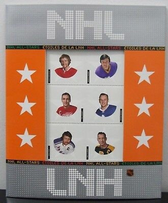 2004 Canada Post Nhl All-Stars Commemorative Stamp Collection Dionne Bower Park
