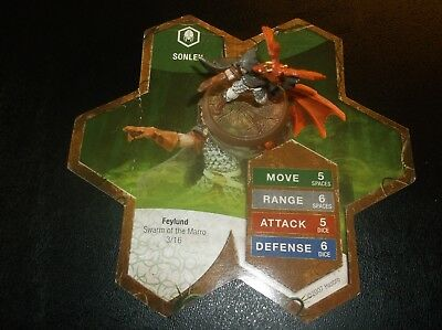SONLEN Miniature Figure from Heroscape Swarm of the Marro master set