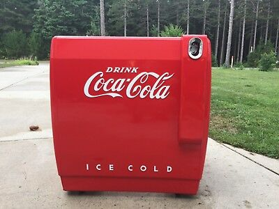 Vintage 1948 Coca-Cola chest cooler