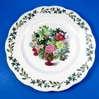 """Signed Fedden Queen Anne Royal Academy Dinner Plate 10 1/2"""""""