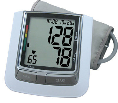 Extra Big LCD with White backlight! Upper Arm Blood Pressure Monitor KD-5917