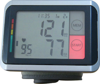 Andon Wrist Automatic Blood Pressure Monitor with Touch Backlight key KD-7962