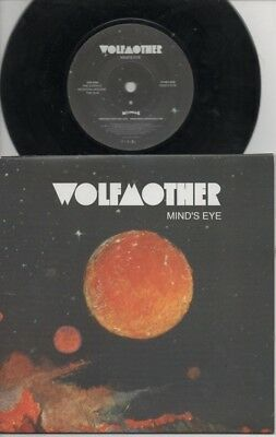 """WOLFMOTHER   Rare 2005 UK Only 7"""" Mint OOP Modular Rock P/C Single """"Mind's Eye"""""""