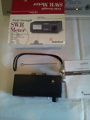 Radio Shack CB and High Frequency HAM SWR Power Meter 21-533 NEW OPEN BOX