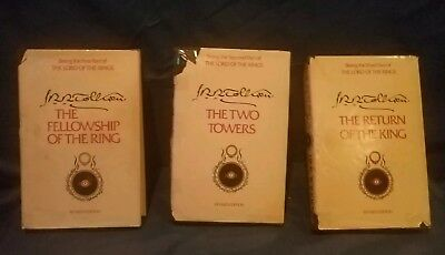 *Lord Of The Rings Book Set* ( 1978) addition.AND BOOK ENDS.