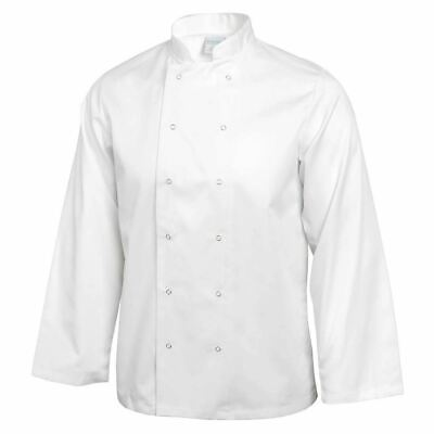 Whites Vegas Chefs Jacket Long Sleeve White | Workwear Top Cook Uniform Unisex