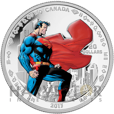 2013 Superman 1 Oz Silver Proof - Man Of Steel - First Series - Sold Out