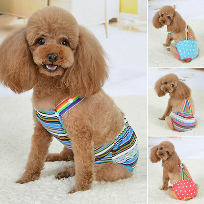 Pet Diaper Belly Bands Underwear Physiological Sanitary Female Dog Period Pants