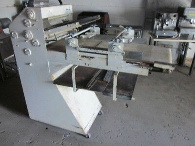 Acme Model 8 Rol-Sheeter Dough Sheeter - Double Pass - Pizza Cookie Bread Roller